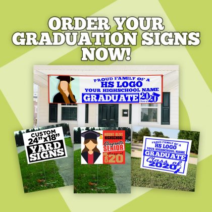 Order Graduation Signs Now